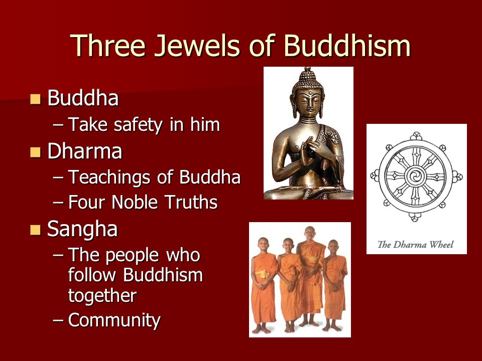 Three Jewels of Buddhism