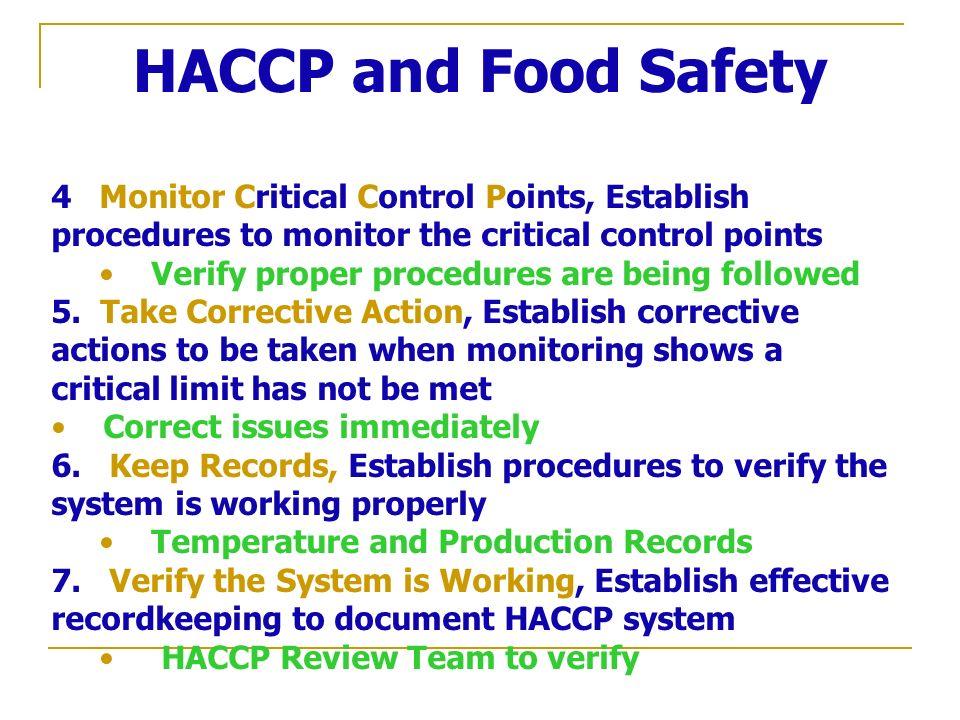 Mvdr josef holej ovsk ph d institut of tropics and - Procedure haccp cuisine ...
