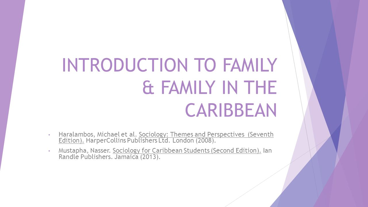 Introduction to family family in the caribbean ppt video introduction to family family in the caribbean biocorpaavc Image collections
