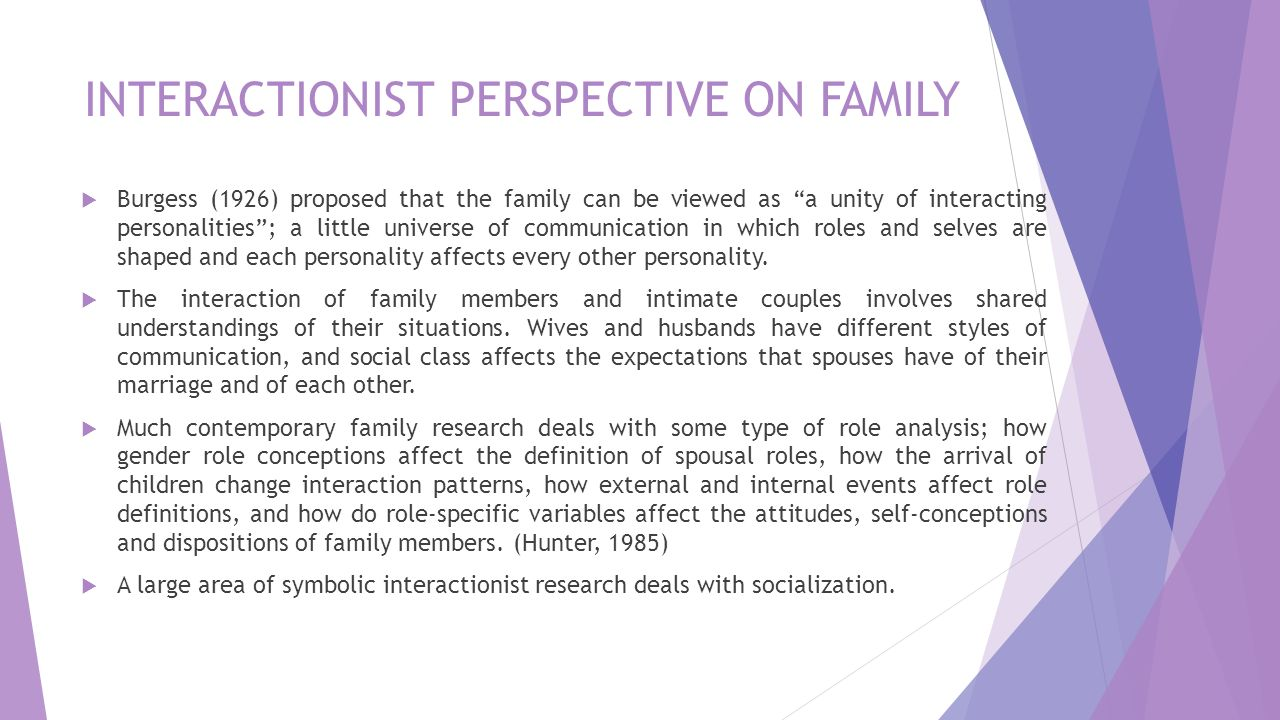 discuss the conflict perspective on the family