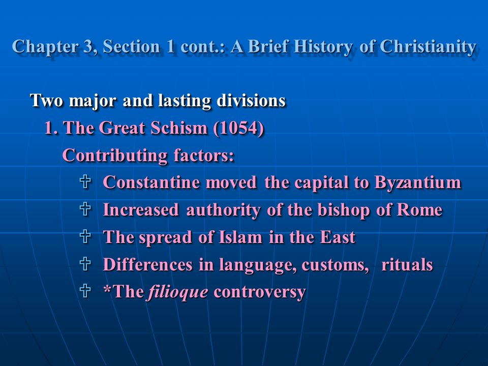 the factors contributing to the development of christianity These early sources indicate that the new religion was beginning to flourish in  and orthodox christianity has been seen as a major factor contributing to the.