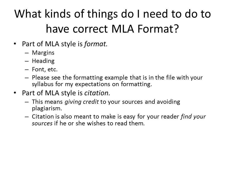 what is mla formatting for english papers