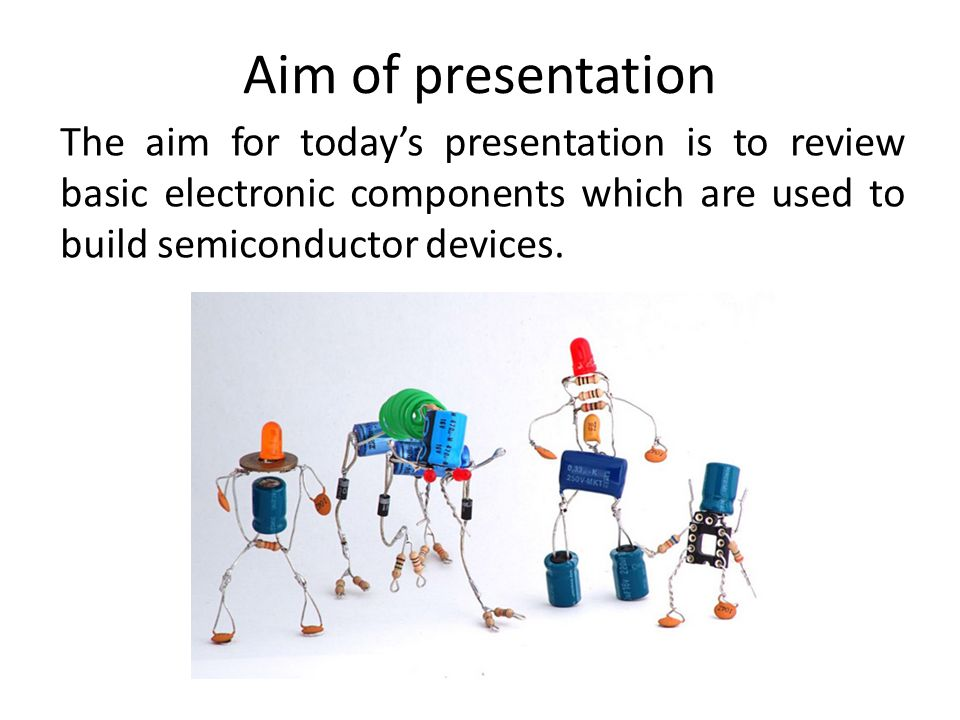 Basic electronic components A review - ppt video online ...