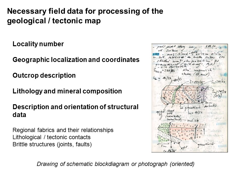 Structural data processing and interpretation czech geological 4 necessary ccuart Choice Image