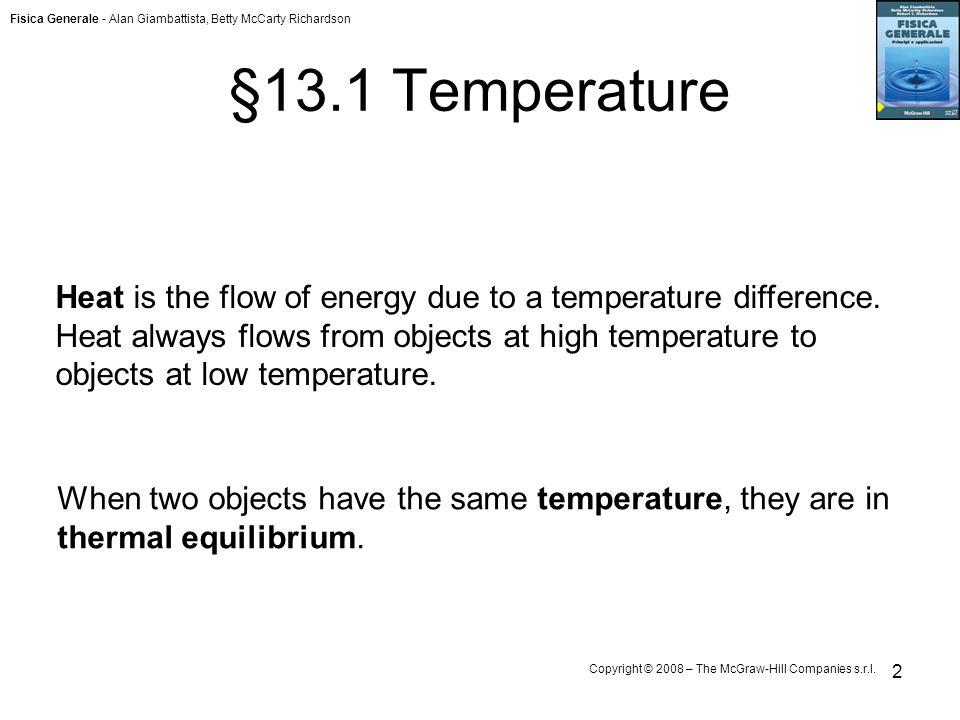 §13.1 Temperature