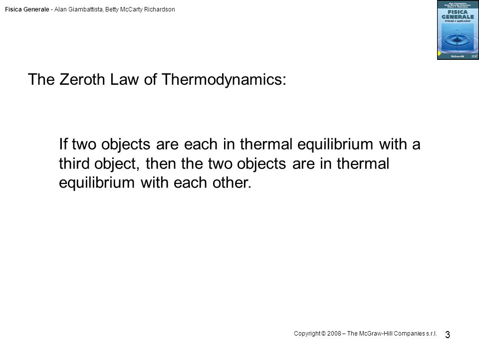 The Zeroth Law of Thermodynamics: