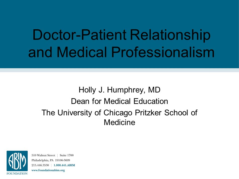 information from the internet and doctor patient relationship