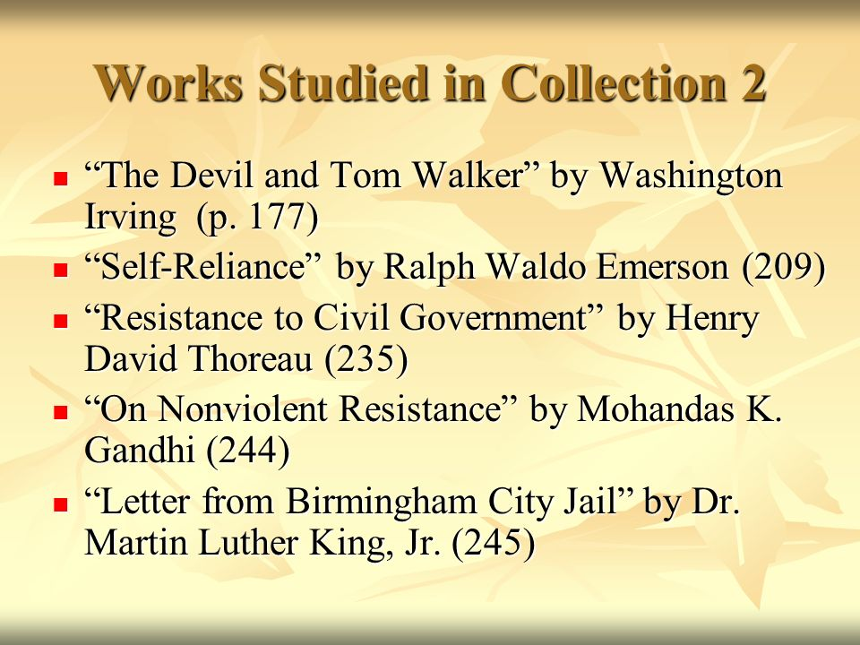 """resistance to civil government and letter from birmingham city jail Letter from birmingham jail study guide criticizing him and praising the city's a birmingham jail"""" how stoicism supports civil."""