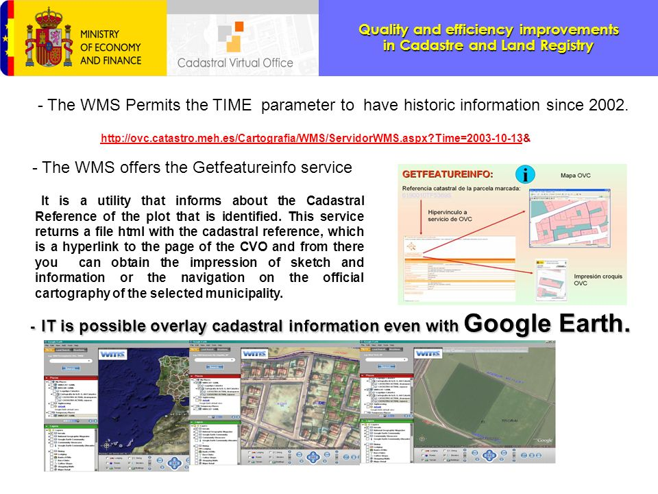 - The WMS offers the Getfeatureinfo service