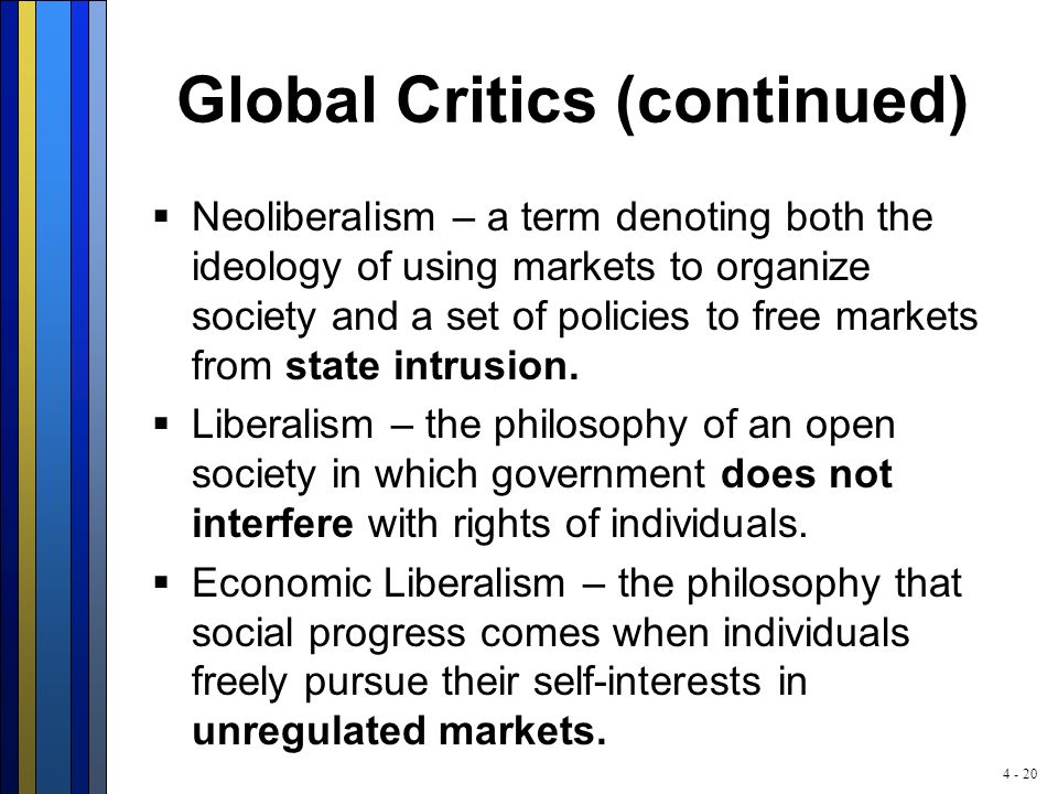 The Decline of Neoliberalism – Implications for CSR?