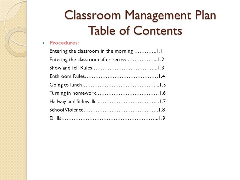 Classroom Design For Behavior Management ~ Classroom management plan ppt download