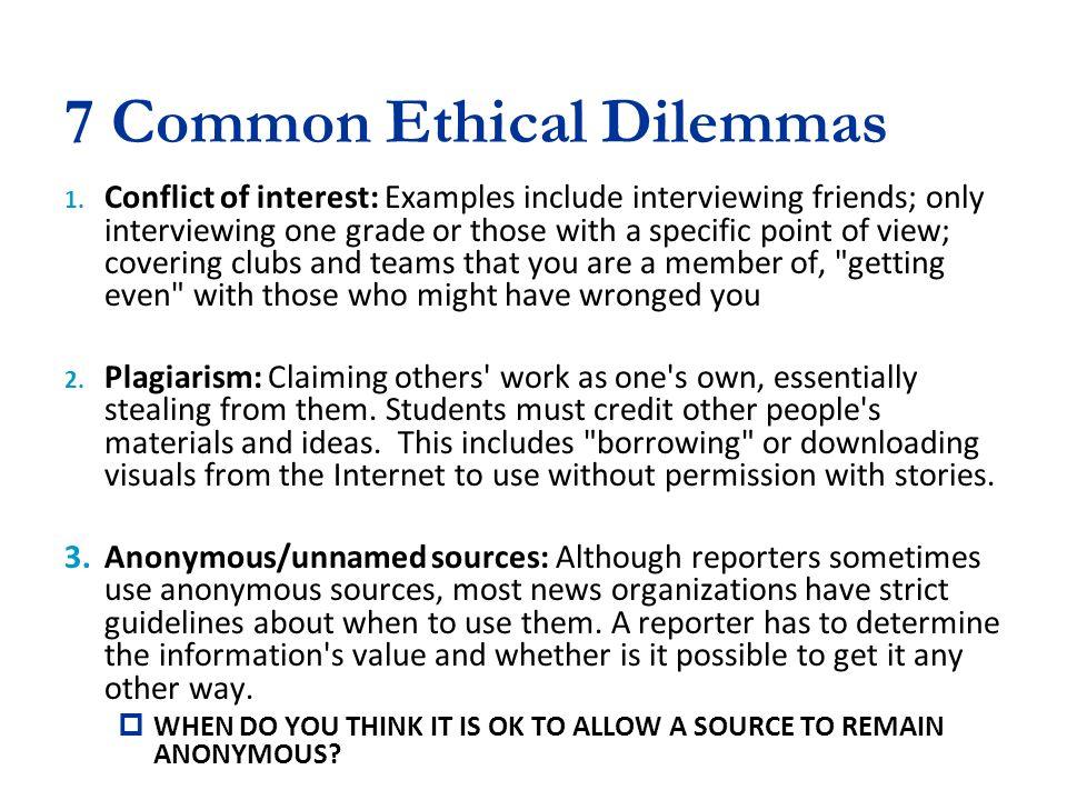 Ethical Dilemma Sample Essay