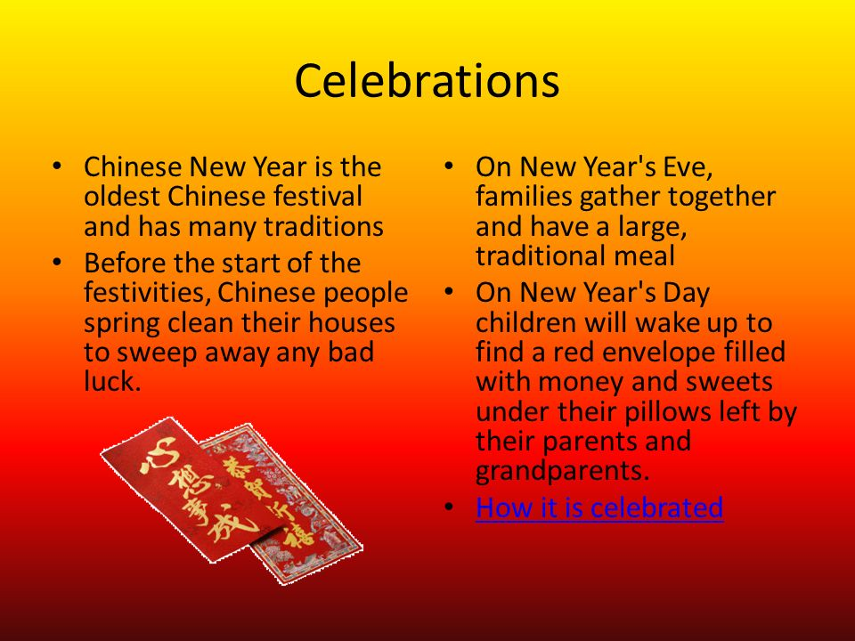 Chinese New Year Eve