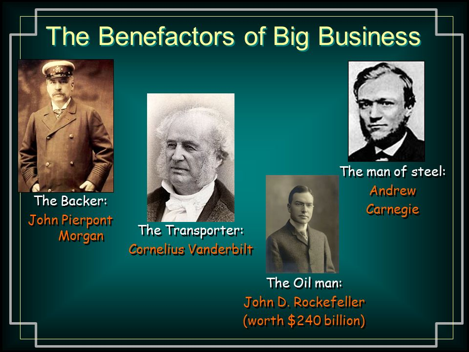 Robber Barons or Pioneers in American Business?
