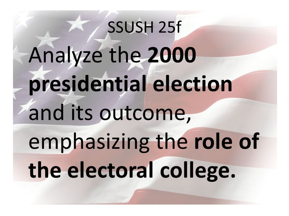 the role and importance of the electoral college Important facts about the electoral college in the election of 1872 the electoral college electors voted for a dead man nebraska and maine do not give their electoral vote to the person with the most votes.