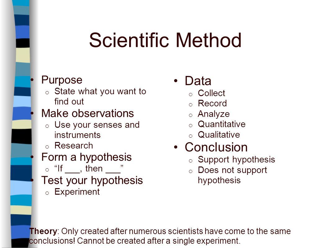 what does scientific method enable researchers to conclude An experiment is a procedure carried out to support, refute, or validate a  hypothesis  in the scientific method, an experiment is an empirical procedure  that arbitrates  in the end, this may mean that an experimental researcher must  find enough  wikipedia developers cookie statement mobile view enable  previews.