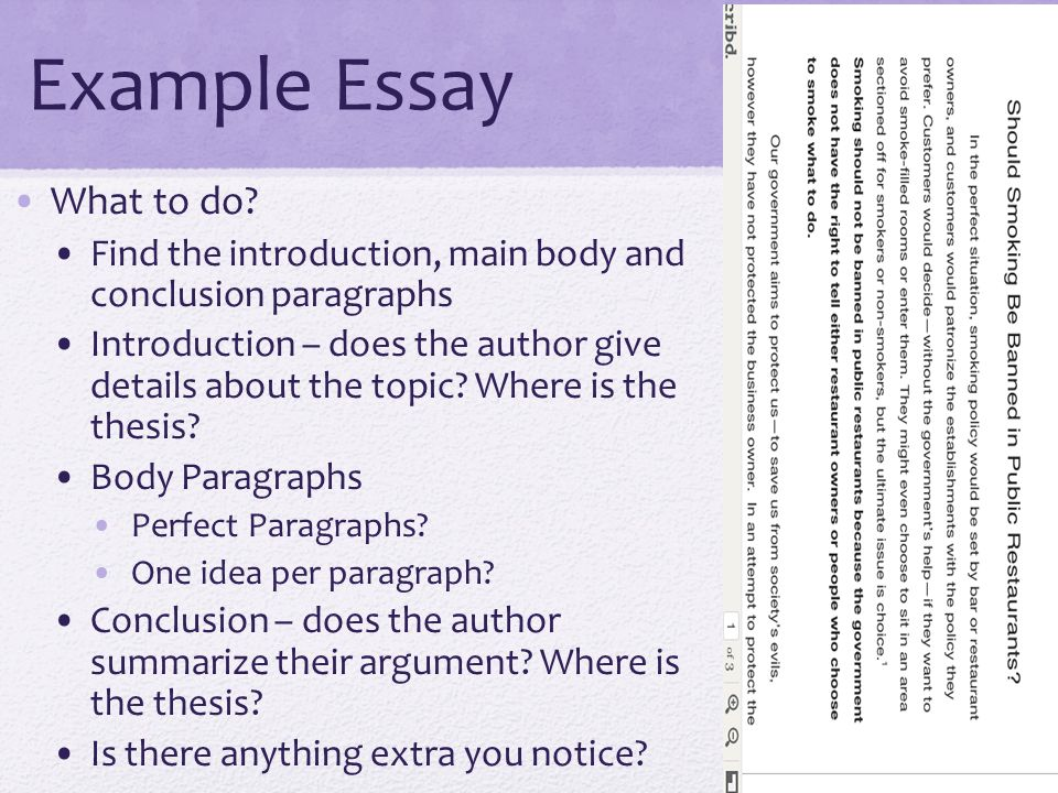 Paper Writing: Introduction, Body and Conclusion