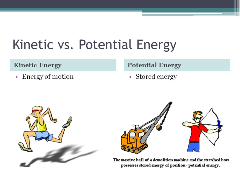 what is the relationship between total energy potential and kinetic
