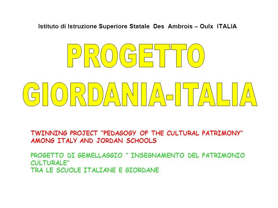 PROGETTO GIORDANIA-ITALIA