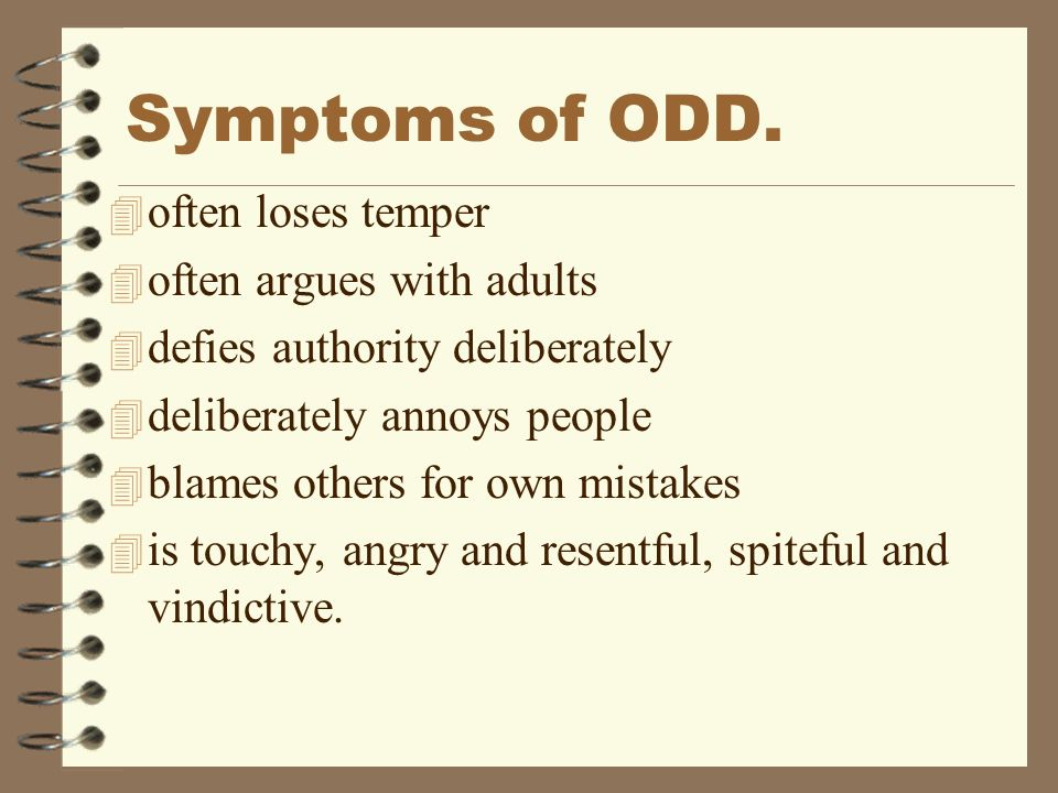 Odd In Adults Test
