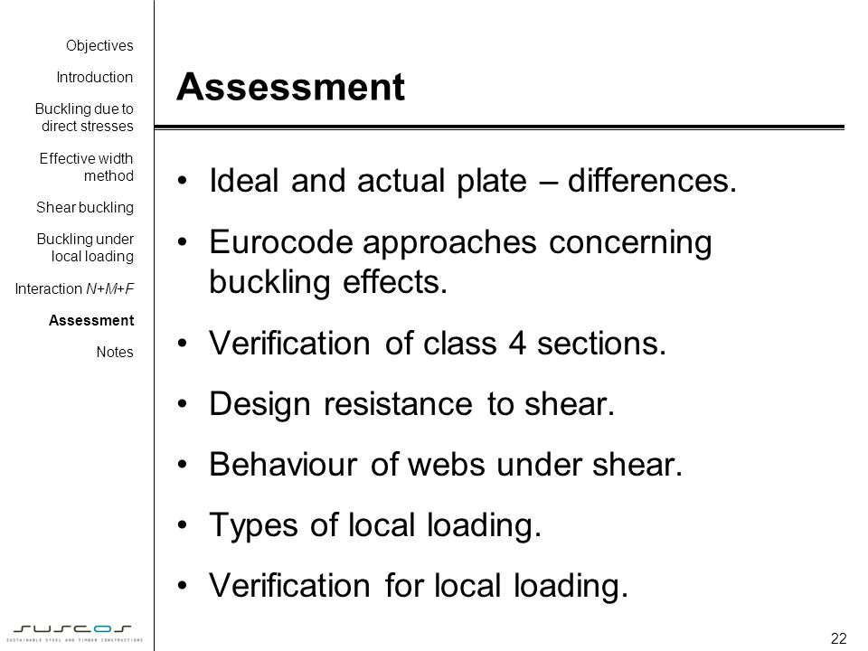 Assessment Ideal and actual plate – differences.