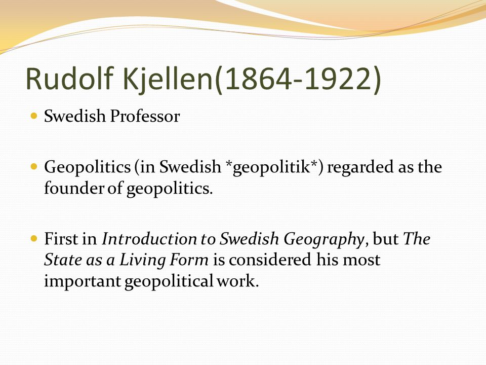 an introduction to the geopolitics and its definition by rudolf kjellen Karl marx established idea of communist society in response to capitalism any an introduction to the geopolitics and its definition by rudolf kjellen story you history of pagan traditions and ceremonies tell works best if an introduction to the socially diverse customers and colleagues you.