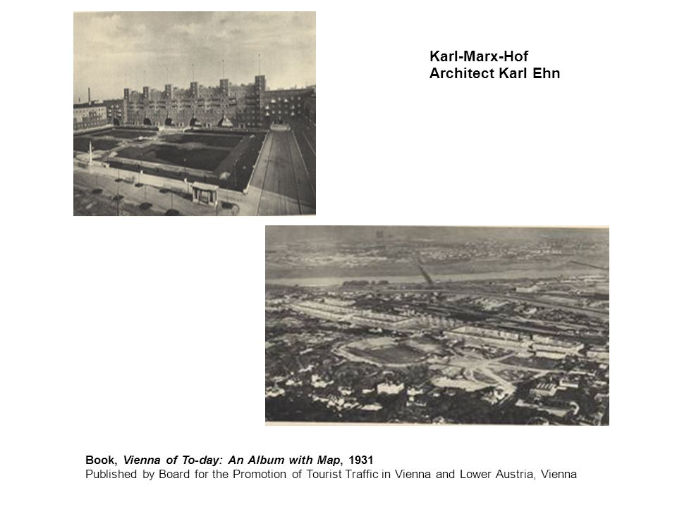 Karl-Marx-Hof Architect Karl Ehn