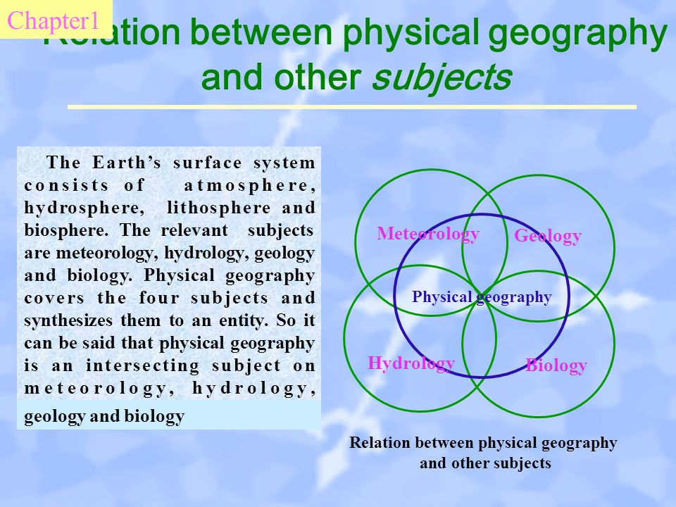 relation between biology and physics Chemistry and physics the concentration in chemistry and physics is supervised by a committee comprised of members of the departments of physics and of chemistry and chemical biology the pamphlet the sps guide to physics and related fields.
