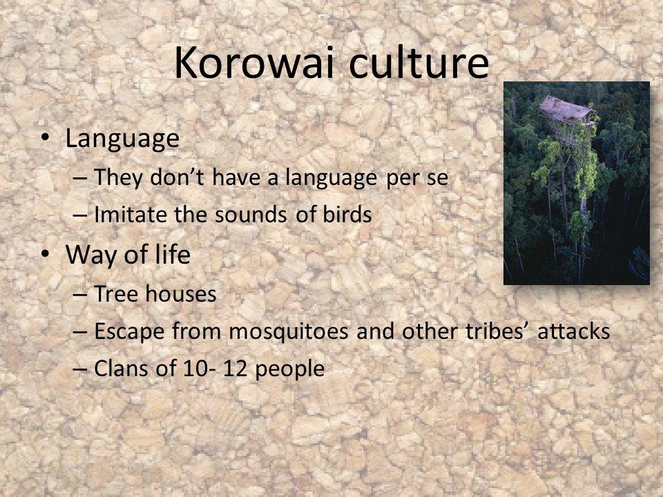 Korowai Tribe Language - mandegar info