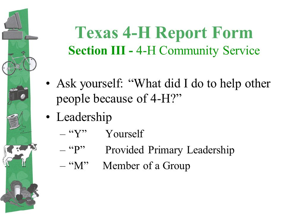 Texas 4-H Recordbook Tutorial - Ppt Download