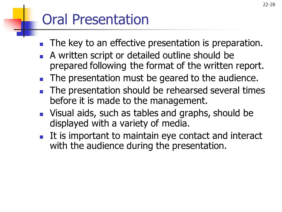 importance of audience analysis in oral presentations How to engage your audience while public speaking  transitions in oral presentations often must be more obvious than those used in writing.