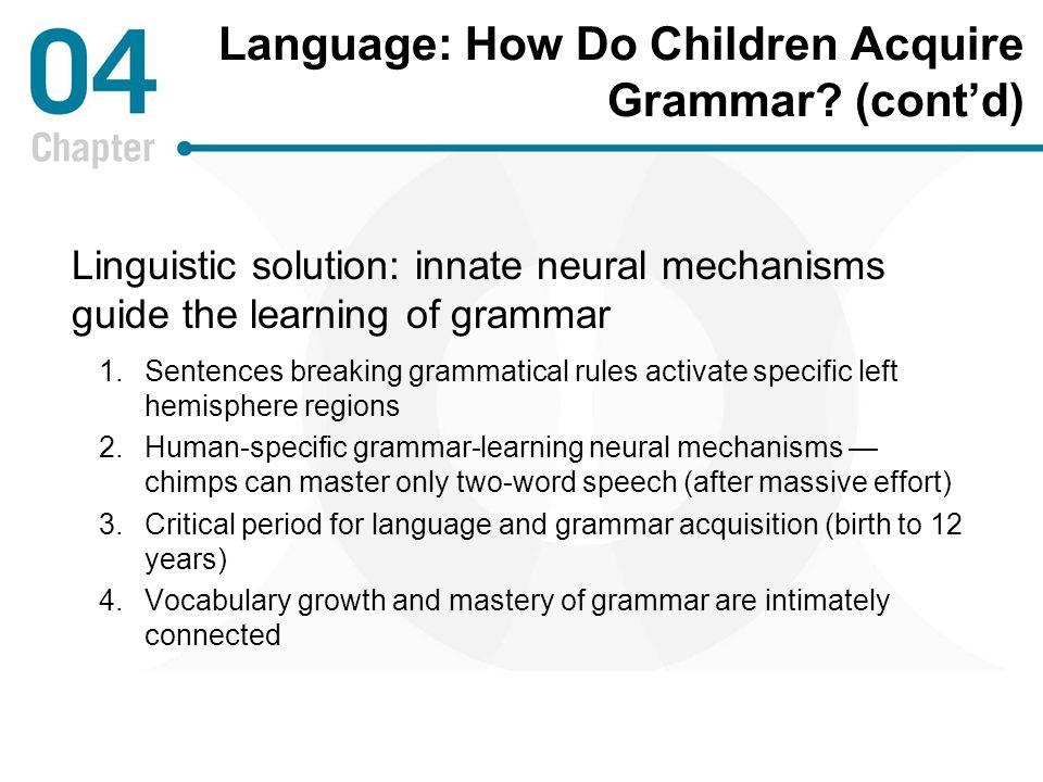 how do humans acquire language Two of the most popular beliefs on language acquisition today are held by  skinner and chomsky their opposing belief on how humans acquire language  has.