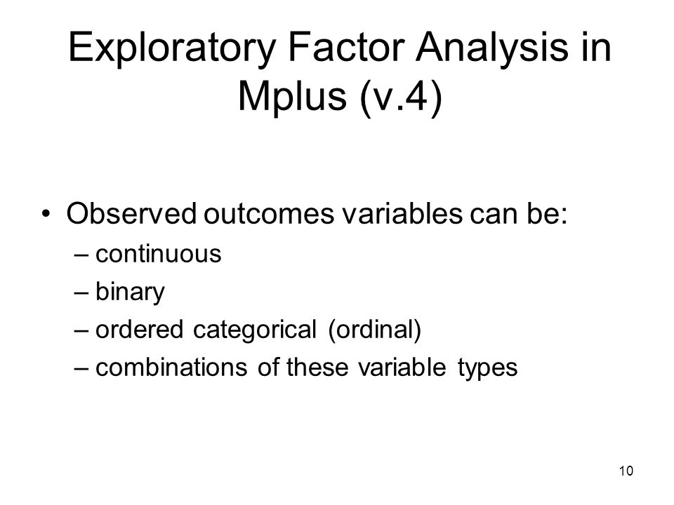assignment exploratory factor analysis Ronald h heck 3 edep 768 (s2011): seminar in structural equation modeling february 14, 2011 university of hawai'i at mānoa confirmatory and exploratory factor analysis.