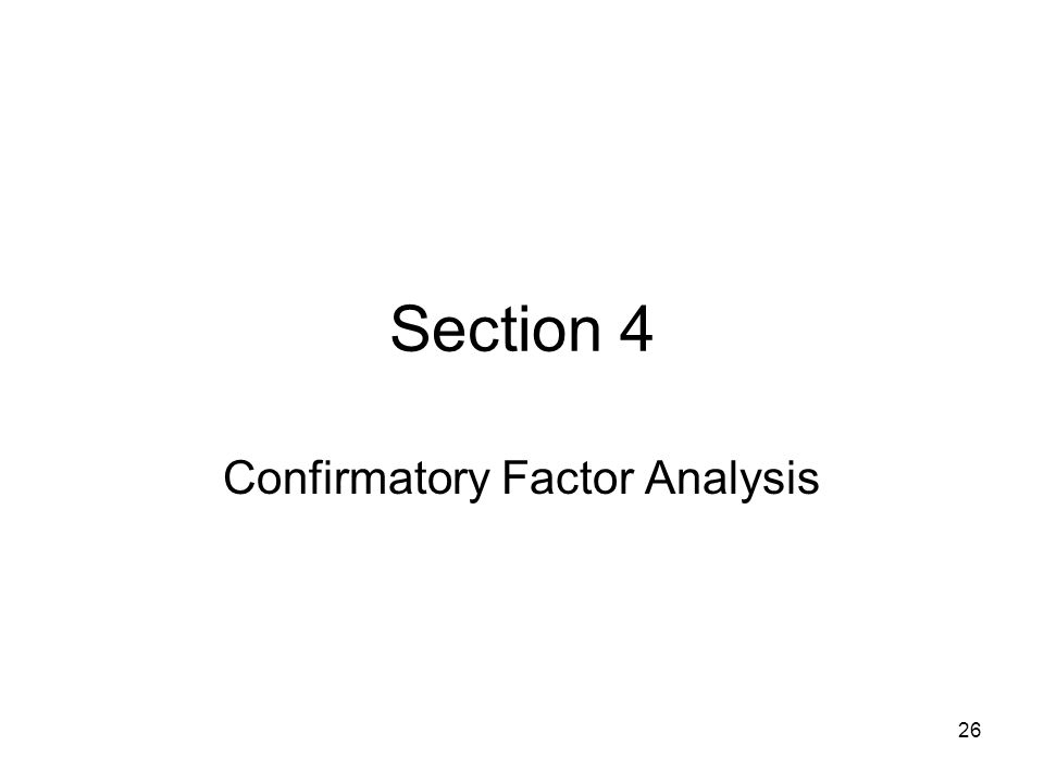 confirmatory factor analysis Chapter 5: confirmatory factor analysis and structural equation modeling download all chapter 5 examples example view output download input download data.