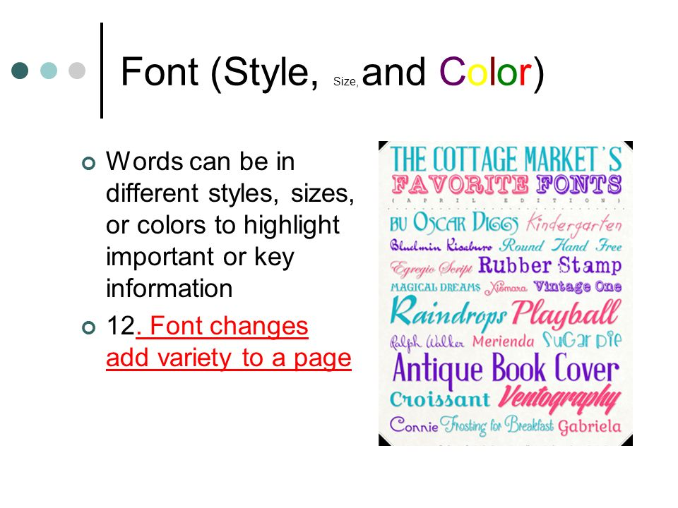 how to add font size and color in html