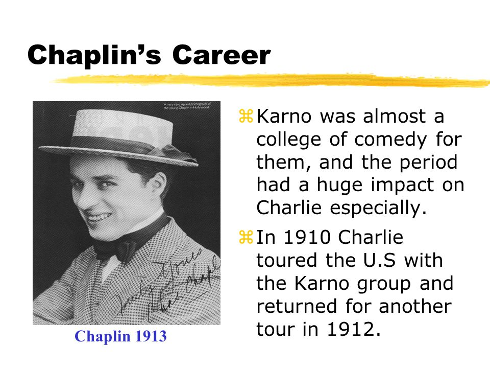 The 3 reasons Chaplin was so successful