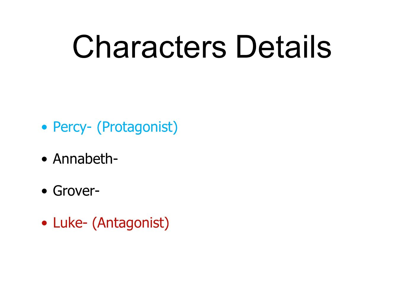 Percy jackson and the lightning thief ppt video online download 5 characters pooptronica