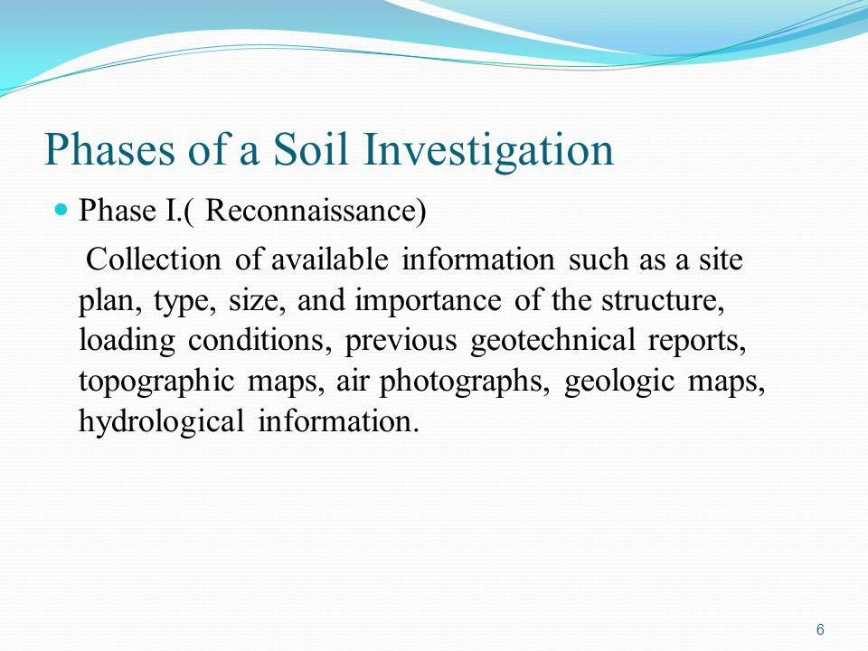 Site investigation ppt video online download for Soil investigation