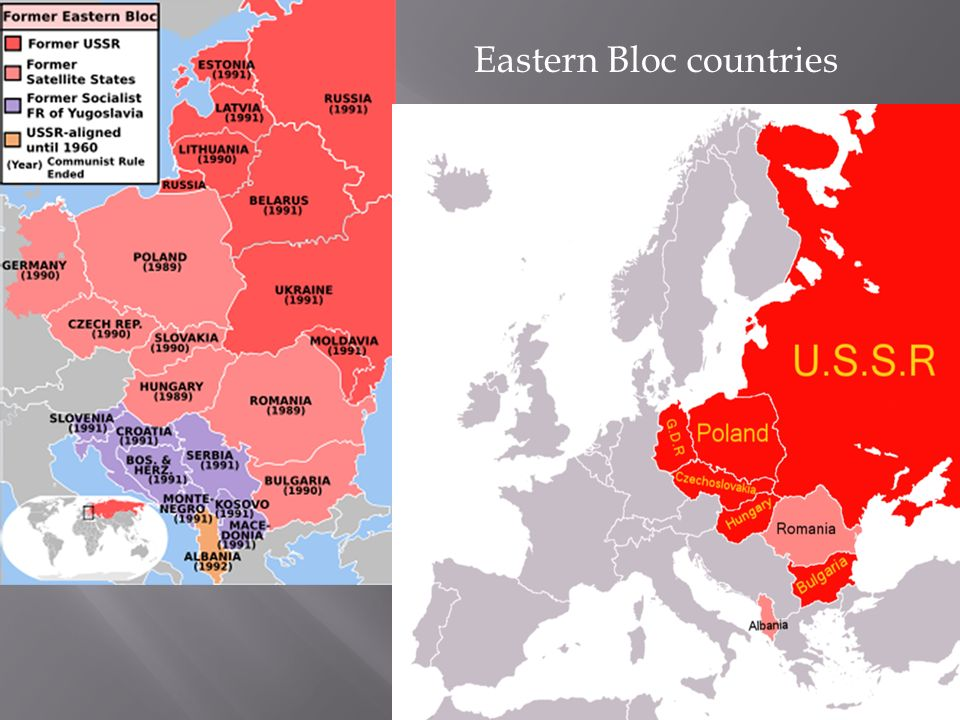 6 Eastern Bloc Countries