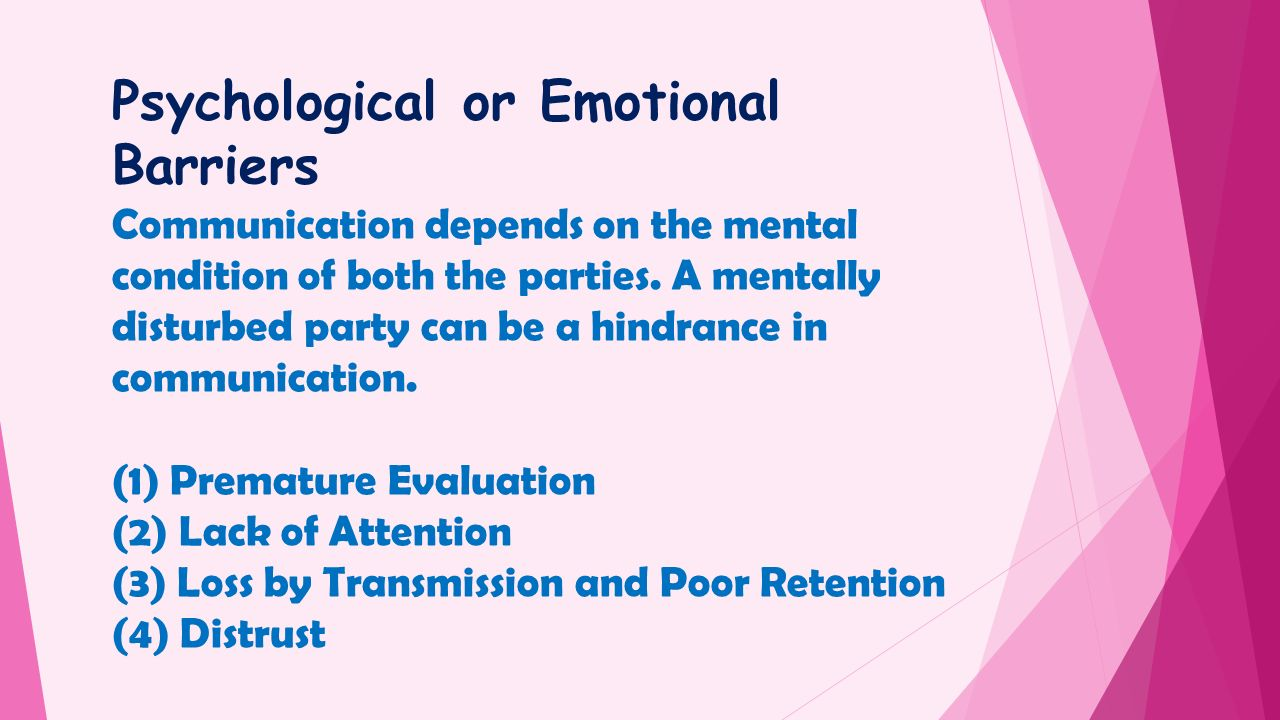 meaning psychological barriers to communication Communication skills, barriers to communication , types of communication, methods.