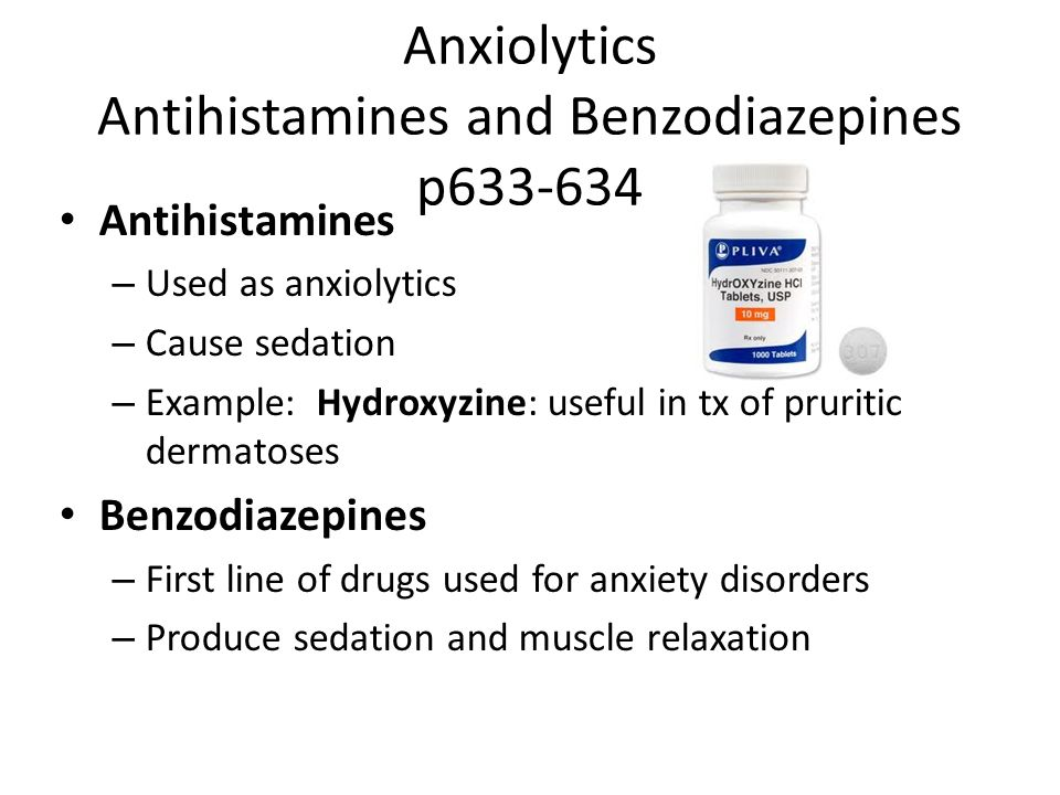 anxiolytics and other agents used to treat psychiatric conditions, Skeleton