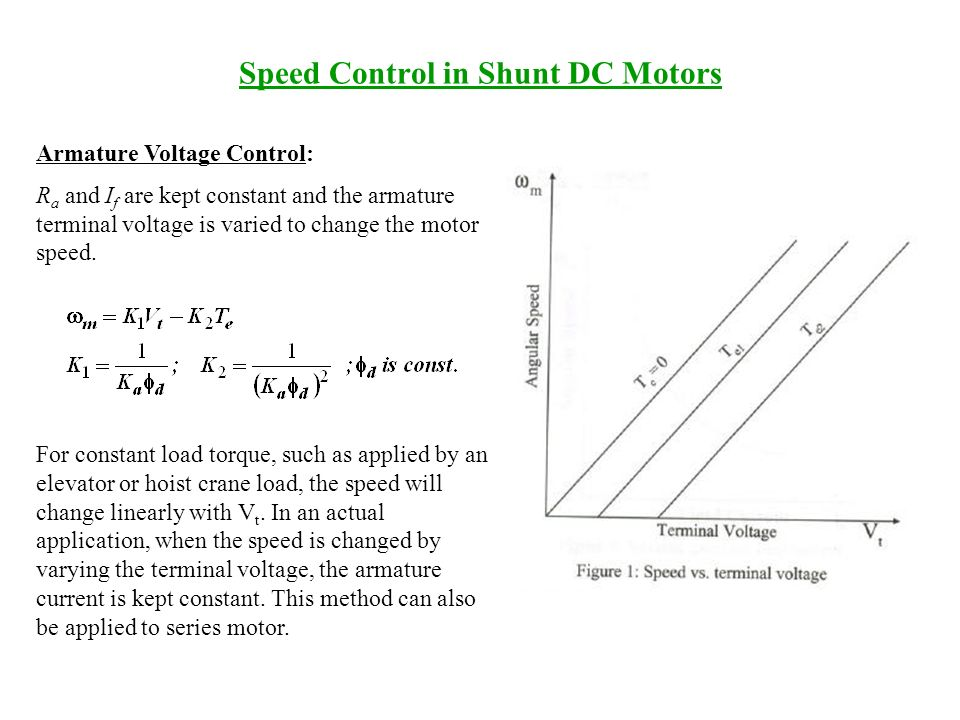 speed control in dc motors ppt video online download