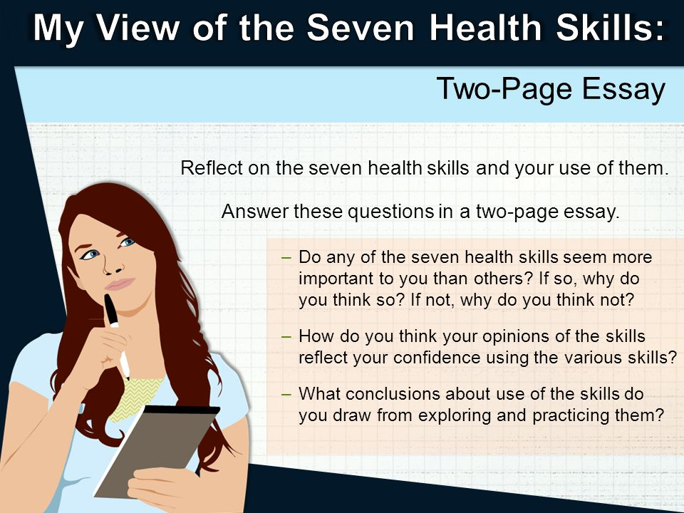 write a one page essay Ten steps for writing an essay rather than worrying about an essay for weeks, suggest to your child to read through these 10 points  write the essay conclusion.