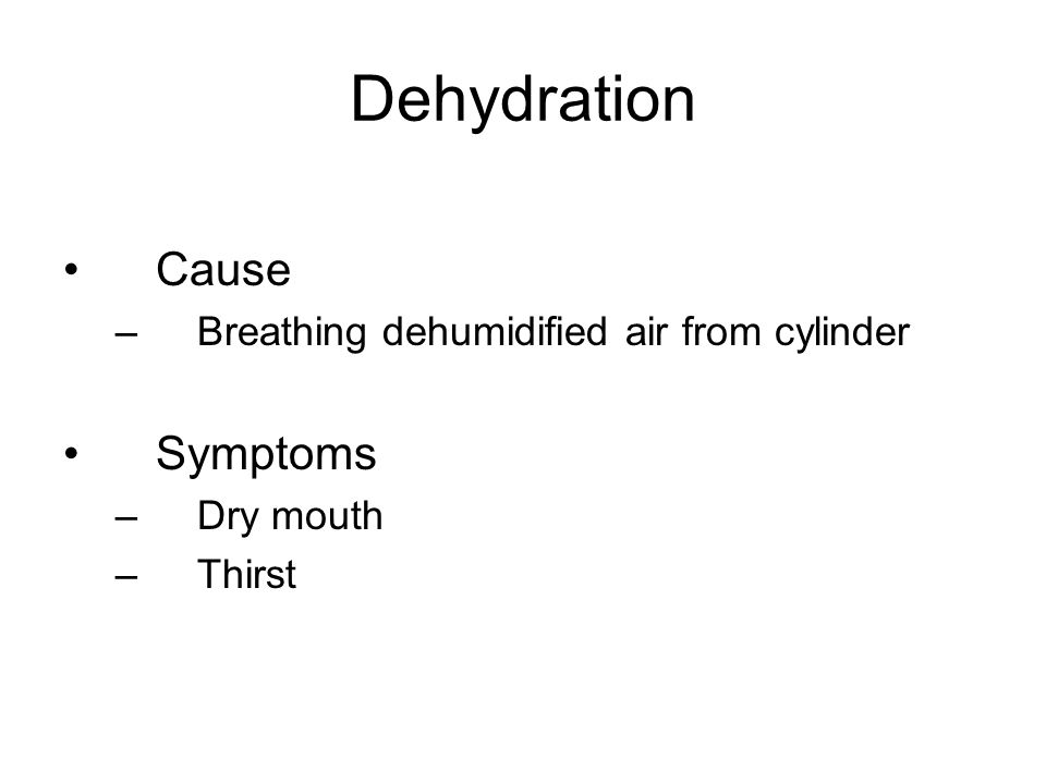 Dry Mouth Fatigue 38