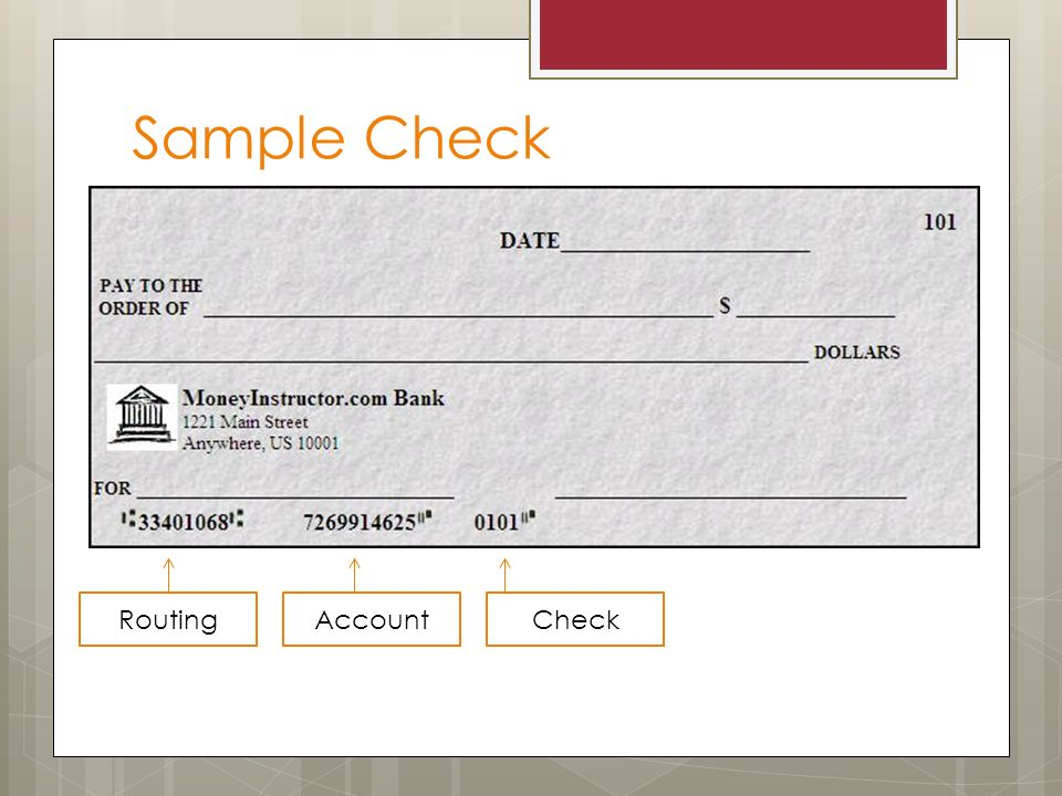 how to check pay accounts