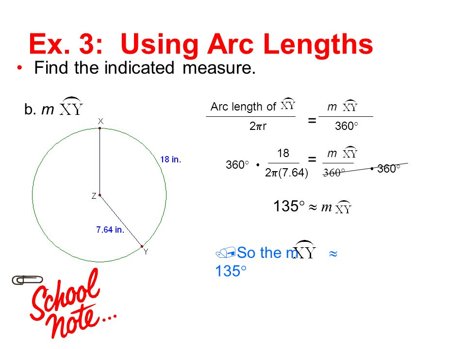 11 4 circumference and arc length ppt download. Black Bedroom Furniture Sets. Home Design Ideas