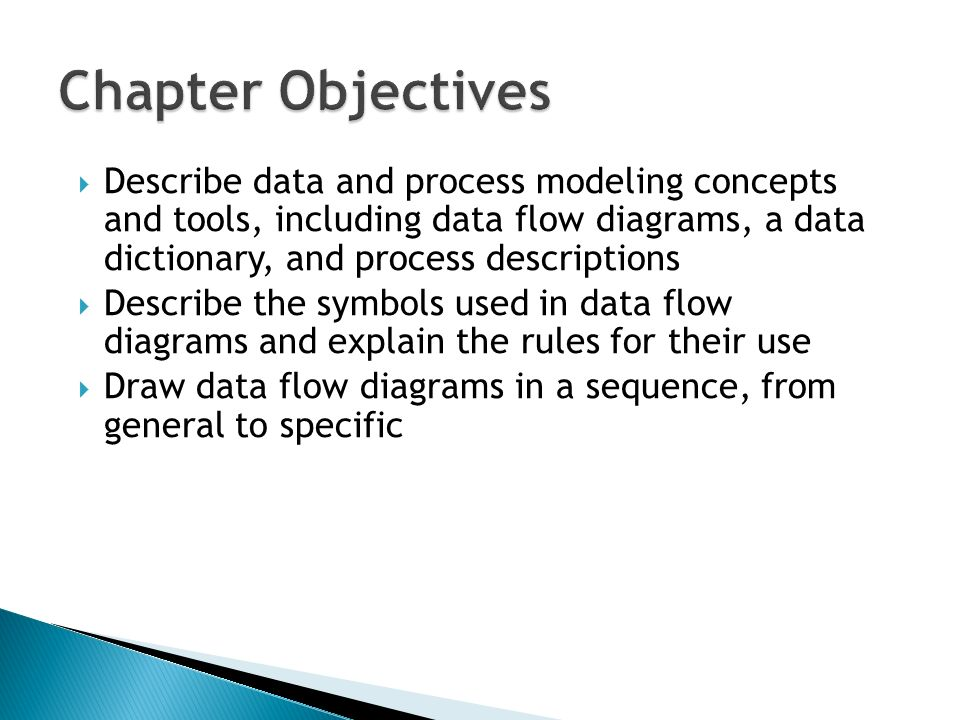 explain dfd data dictionary explain in detail how the information requirement is determined for an o