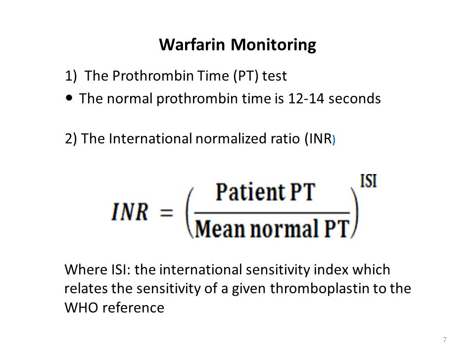 A Low Inr Means Your Anticoagulation Dose Is Too And Blood Clotting Quickly Testing Or The International Normalized Ratio