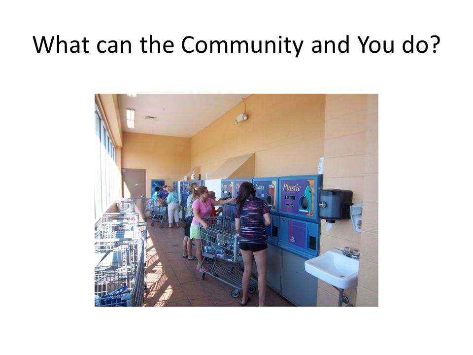 What can the Community and You do