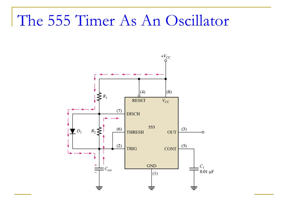 how to make a 555 timer oscillator